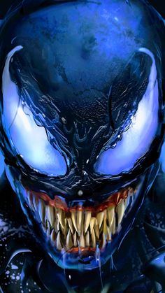 repost from . Venom Spiderman, Black Spiderman, Marvel Venom, Spiderman Art, Marvel Vs, Marvel Heroes, Venom Comics, Marvel Comics Art, Art Venom