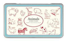 Cavallini Papers Rubber Stamps - Stempelset - Animals, Tiere von Cavallini Papers, http://www.amazon.de/dp/1574891146/ref=cm_sw_r_pi_dp_7XElrb132NCPK