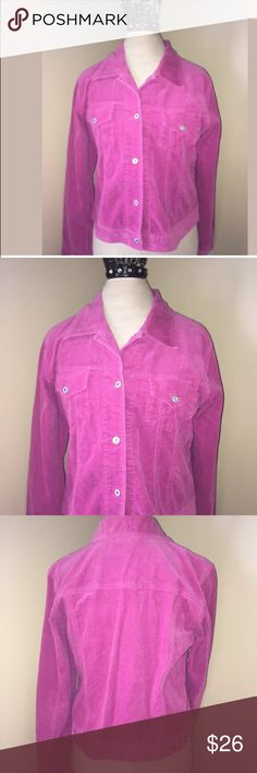Karen Kane size M hot pink corduroy jacket Karen Kane size medium hot pink jacket Karen Kane Jackets & Coats Blazers