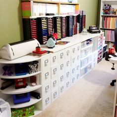 My crafting space