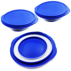 Alfie Pet by Petoga Couture - Ian Pet Expandable/Collapsible Travel Bowl with Lid - Size: 2.5 Cups, Color: Blue -- Continue to the product at the image link. (This is an affiliate link and I receive a commission for the sales)