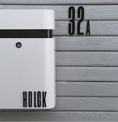 #mailboxes #modern design #minimalism - design letters bokstaver utendørs