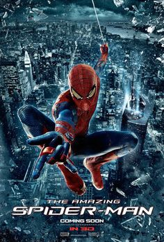 "Spidey swings into action in this new international poster. The Marvel superhero hits screens once again in ""The Amazing Spider-Man"" Photo Credit: Columbia Pictures"