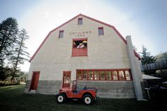 Matt Shumate Photography at Pine River Ranch wedding bride and groom portrait up in loft in barn