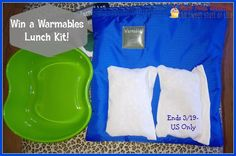 This Lunch Kit Giveaway is sponsored by Warmables and hosted by Mom Does Reviews and her blogger friends. About THE WARMABLES LUNCH KIT Warmables Lunch Kits are designed to keep food warm for 4-6 hours. They are the ideal lunch solution for people who are...