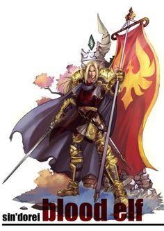 World of Warcraft Paladin doujin paintings