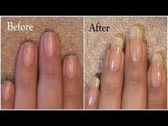 How To Grow Nails FastClear nail polishSome garlicMix itApply at least once a week