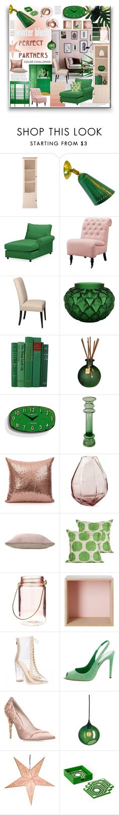 """""""Color Challenge"""" by marionmeyer ❤ liked on Polyvore featuring interior, interiors, interior design, home, home decor, interior decorating, Martha Stewart, Pottery Barn, Home Decorators Collection and DutchCrafters"""