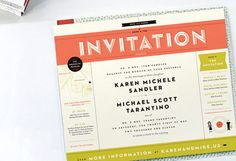wes anderson inspired wedding invitations - Google Search