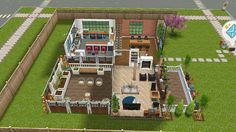 Sims Freeplay Houses, Pc Games, Sims House, Heartland, Dreams, Sims 4 Houses