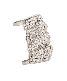 Rhinestone Knuckle Ring | FOREVER21 - 1000016418