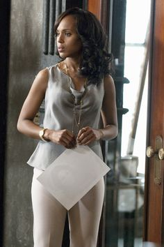 Kerry Washington as Olivia Pope in Scandal is everything