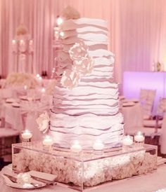 30 Most Luxurious Wedding Cakes You Will Love - MODwedding