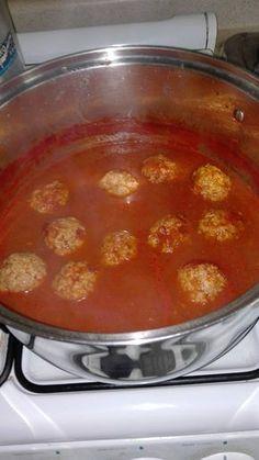 Foto de la receta: Albóndigas en chipotle fácil