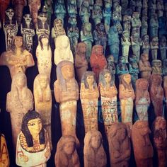 Shabtis in #AncientWorlds by @imigraham
