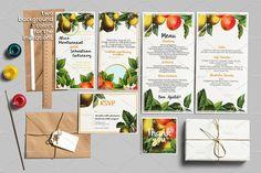 30%OFF Botanical Wedding Suite Vol.2 by Northern Kraft on @creativemarket