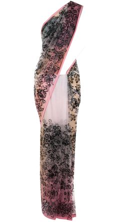 Pink ombre hand painted sari available only at Pernia's Pop-Up Shop.