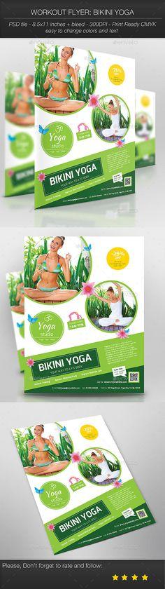 Yoga Flyer Yoga, Business flyers and Flyer printing - yoga flyer