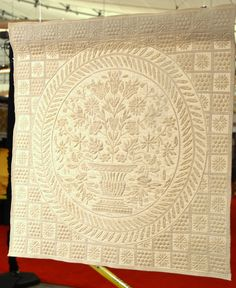 whole cloth quilts | whole cloth quilt that was simply SPECTACULAR! This quilt is only ...