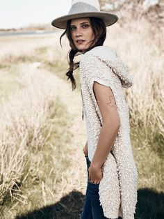 This looks like such a soft hooded cape! From http://www.freepeople.com/shop/adventure-sought-hooded-cape/.
