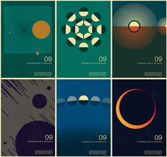 Creative Review - International Year of Astronomy posters