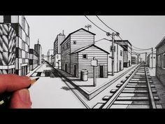 How to Draw Using 1-Point Perspective: Narrated Step by Step - YouTube