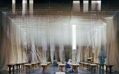 SCHERZ, SATIRE, IRONIE UND TIEFERE BEDEUTUNG Inszenierung Chris Alexander  Bühne Beatrix von Pilgrim Nationaltheater Mannheim