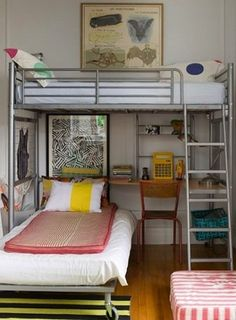 Bunk beds are the best! They're functional AND fun, and can be a great solution to making the most out of a shared space. I like it even better w...