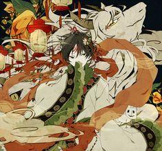 Hakutaku (Hoozuki no Reitetsu) Image - Zerochan Anime Image Board Fan Anime, Anime Guys, Anime Art, Anime Tentacle, Boy Illustration, Natsume Yuujinchou, Another Anime, Background Pictures, Manga Pictures