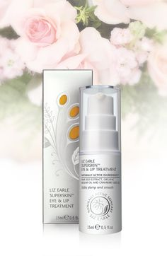 Liz Earle Superskin Eye and Lip Treatment 15ml pump. This powerful serum contains naturally active ingredients which work hard to help reduce the appearance of fine lines and wrinkles.
