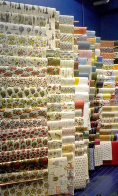 """Rossi 1931 italian decorative papers at Rochester Art Supply. Called an """"artist's candy store"""" on their Facebook page by a fan, Rochester Art Supply Inc., in the historic Cascade section of downtown Rochester, New York, is filled to the rafters in high quality supplies for the professional fine artist, as well as the budding artist and dabbler alike. Read more..."""