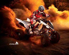 Look at me riding a Yamaha Raptor 700