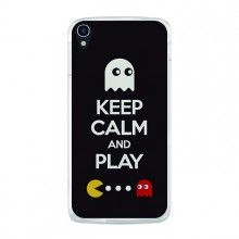 Capa Gel Alcatel OneTouch Idol 3 5.5 BeCool Keep Calm Pacman