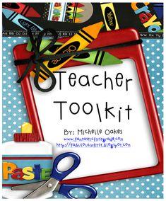 FREE Teacher Toolkit: Calendars, Class Forms, Gift Ideas...