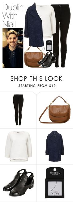 """""""Dublin with Niall"""" by onedirectionimagineoutfits99 ❤ liked on Polyvore featuring Topshop, Mulberry and Simply Silver"""