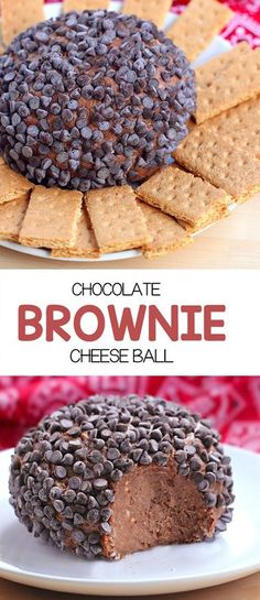 >>>Cheap Sale OFF! >>>Visit>> Chocolate Brownie Cheese Ball - This was so EASY just throw 5 ingredients together and you have dessert - it literally tasted like a giant ball of chocolate cheesecake! Dessert Cheese Ball, Dessert Dips, Dessert Recipes, Dairy Recipes, Cheesecake Brownies, Chocolate Cheesecake, Chocolate Brownies, Chocolate Chocolate, Cheesecake Pops