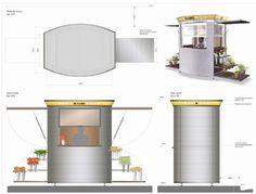 quioscos mobiliario urbano - Buscar con Google Space Architecture, Urban Furniture, Small Spaces, Sumo, Google, Model, Kiosk, Space, Architecture