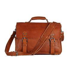 Vintage Style Men Leather Large Laptop bag in Brown Generic http://www.amazon.com/dp/B00VJOGHT4/ref=cm_sw_r_pi_dp_Heilvb04G0JGG