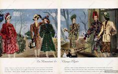 Pierre Pagès 1945 Gabrielle, Jane Regny, Lucile Manguin, Jean Dessès, Marcel Dhorme, Madeleine de Rauch