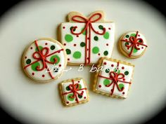 images of present cookies | present | sugar cookies...Christmas