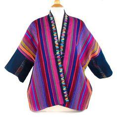 Earththones Handwoven Jacket