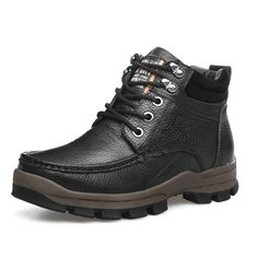 7773612e6e416a Aliexpress.com : Buy Winter Shoes Boots For Men Fashion High Top Footwear  With Warm Fur Male Botas Size 38 to 45 46 47 48 Black Brown from Reliable  shoes ...