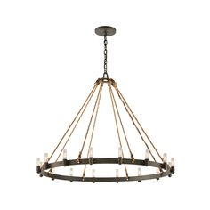 This fixture comes in shipyard bronze. Made of hand-worked wrought iron.