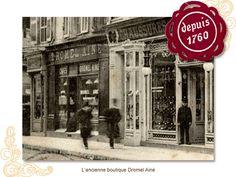 Dromel Aine. Chocolate Shop - Marseille since 1760. Pinned by www.mygrowingtraditions.com