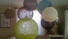 Yarn Light Fixtures