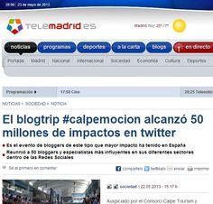 No sabía que eso llegara a ser posible en #calpemocion 2013… pero el trato humano es lo que más me importa #calpe Telemadrid en Calpe