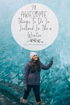 Click HERE to find out the top 30 things to do in Iceland in the winter. Hikes, Ice caves, food, beaches, waterfalls and MUCH more! Iceland Travel Tips, Europe Travel Tips, Travel Guides, Best Winter Destinations, Travel Destinations, Ice Caves, Ultimate Travel, Winter Travel, Adventure Travel
