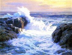 Sunlit Surf  Jack Wilkinson Smith