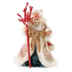 The Jolly Christmas Shop - Department 56 By The Sea Coral Possible Dreams Santa Figure 4050055, $62.00 (http://www.thejollychristmasshop.com/department-56-by-the-sea-coral-possible-dreams-santa-figure-4050055/)