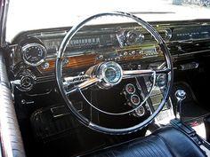 1963 Pontiac Grand Prix.  Mine had a 389 TriPower, gold w/white leather interior.  Loved that car.